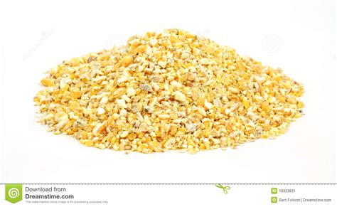 cracked corn bird food stock image image 18323831