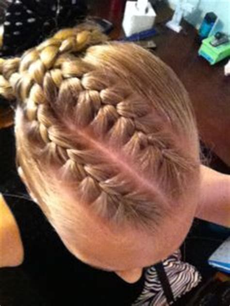 hairstyles for a gymnastics competition gymnastics hairstyles on pinterest gymnastics hair