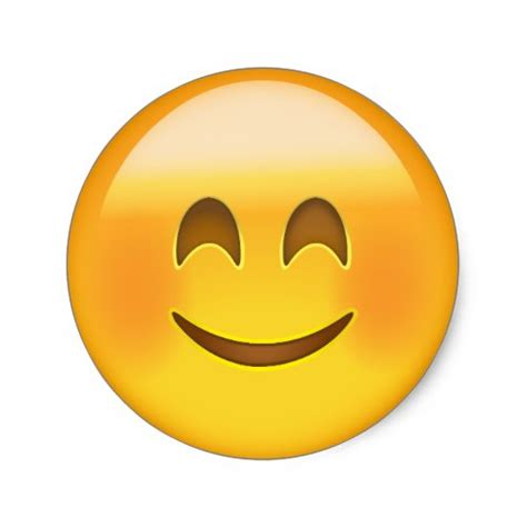 smiling face smiling eyes emoji archive emojiprints