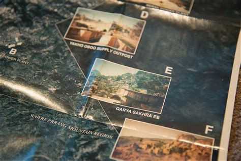 mgsv africa map metal gear solid v the phantom collector s edition shelf