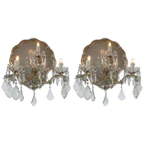 Applique Antiche by Applique Antiche Cristallo Bohemia A Tre Con Specchio