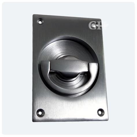 Flush Door Handles by 1804a Door Flush Handle In Chrome And Nickel