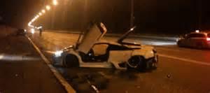 Are Lamborghinis Illegal In Lamborghini Murcielago Crashed In Switzerland After