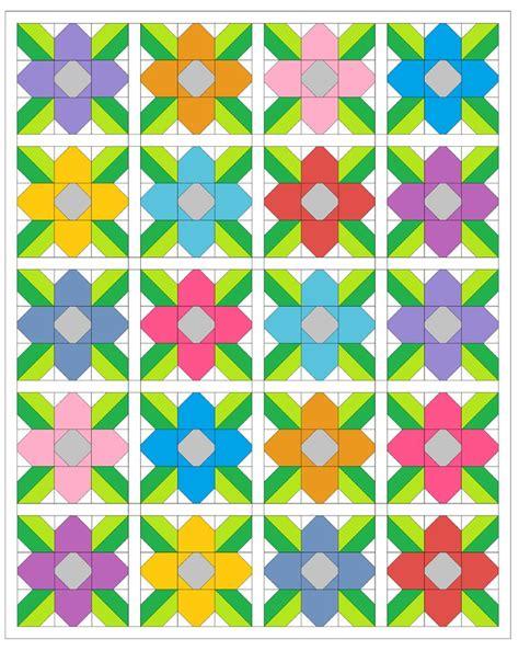 flower pattern quilt block 350 best images about flower blocks on pinterest mini