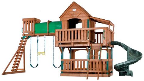 best wooden swing set under 1000 1000 ideas about outdoor forts on pinterest play