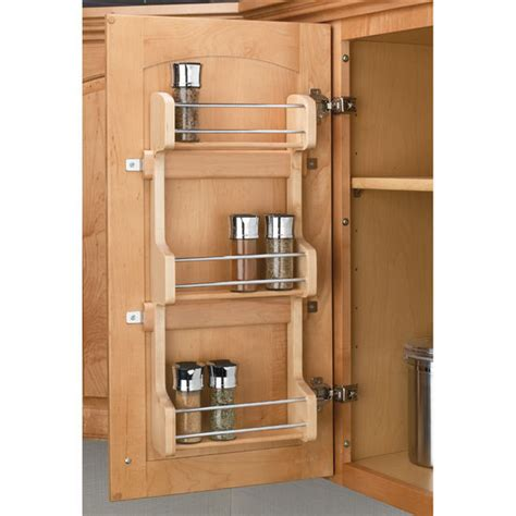 Rv Spice Rack door mount spice rack by rev a shelf kitchensource