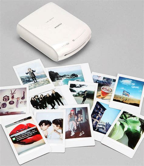 Printer Fujifilm shake it like a polaroid with the fujifilm instax instant smartphone printer the gadgeteer
