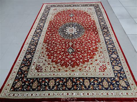 place rugs qom silk rug5 x 3 2 ft 152 x 97 cm rugs place