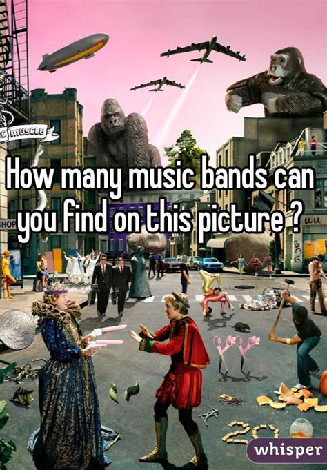 How Can You Search For How Many Bands Can You Find On This Picture