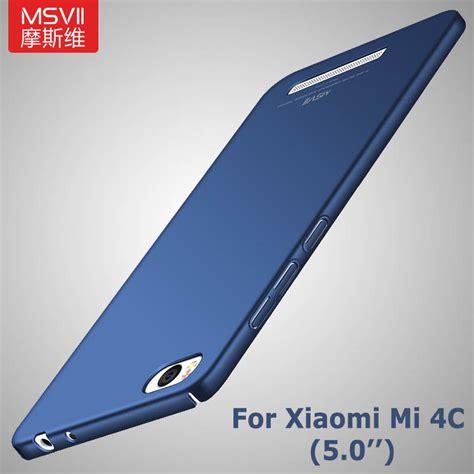 Xiaomi Mi4c 4c Spongebob Pattern Cover Casing xiaomi mi4c original msvii brand luxury silm xiaomi mi 4c cover xiomi mi4c scrub pc back