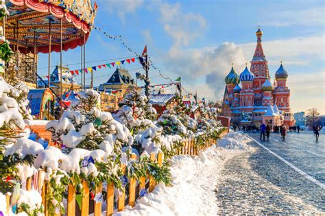 spend christmas  russia