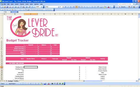 Wedding Budget Calc by Wedding Planner Wedding Checklist Spreadsheets