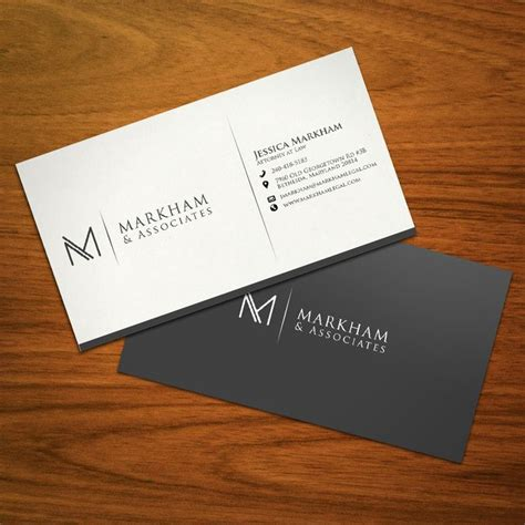 Business Cards With And Logo