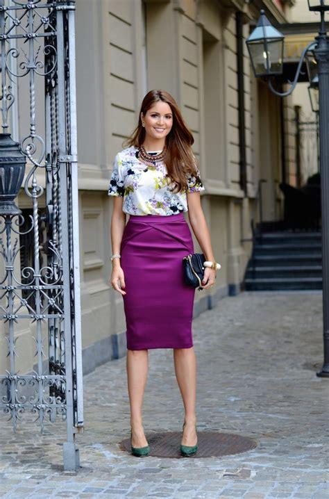 how to wear knee length pencil skirts 2018 fashiontasty