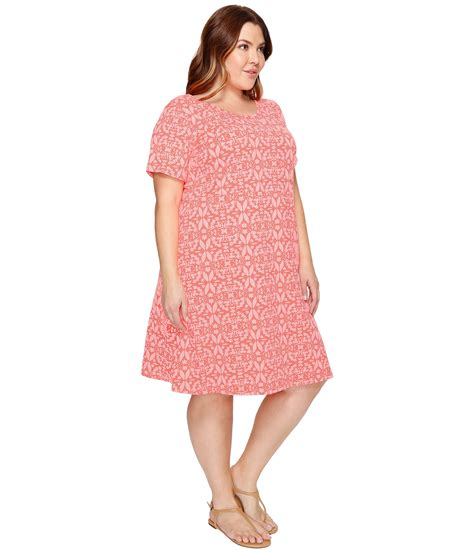Dress Batik Allsize fresh by fresh produce plus size island batik dress at zappos