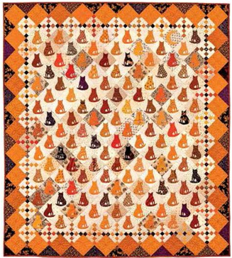 The Tabby Cat Patchwork Fabric Shop - quilt inspiration free pattern day cat and quilts