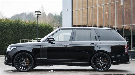range rover autobiography custom range rover autobiography 600 le by kahn design