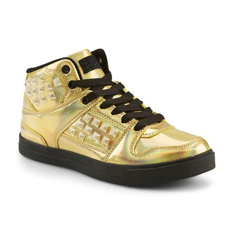 gold athletic shoes gotta flurt s hip hop hd iii athletic shoe gold