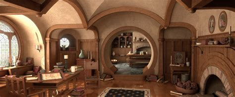 and interiors a house fit for a hobbit