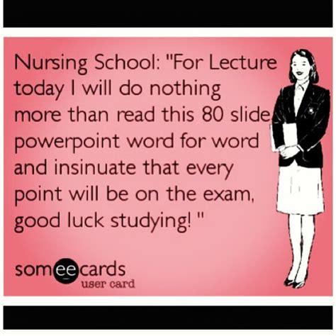 Funny Nursing School Memes - image gallery nursing education humor