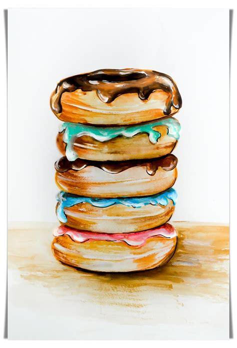 doodlebug donuts food doodles 2blissofbaking