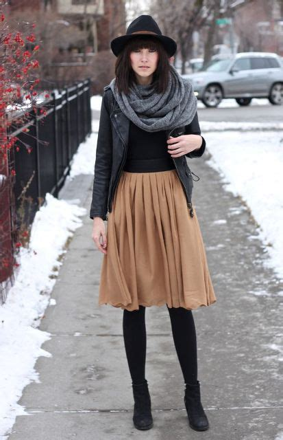 7 Favorite Winter Skirts by 16 Feminine Pleated Midi Skirt For Fall And Winter