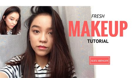 makeup tutorial in the philippines fresh makeup look tutorial philippines youtube