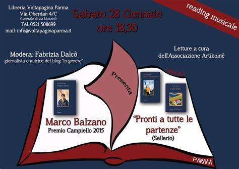 libreria voltapagina 28 gennaio marco balzano alla libreria voltapagina