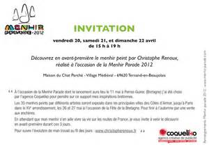 Exemple De Lettre D Invitation A Un Cocktail Modele Lettre Invitation Inauguration