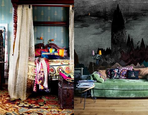 bohemian bedroom interior design ideas pertaining to just