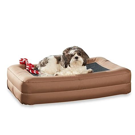 buy enchanted home pet outdoor pet air bed in brown from bed bath beyond