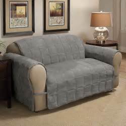 sofa protectors linen store quilted reversible microfiber furniture pet
