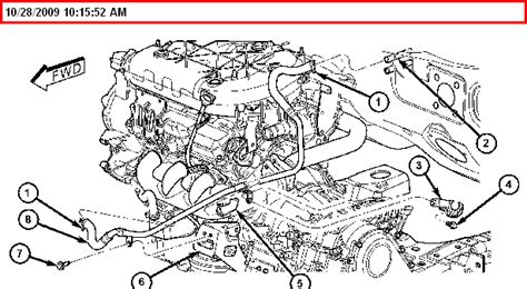 2006 Chrysler Pacifica Engine Diagram 2004 Chrysler Pacifica Engine Diagram