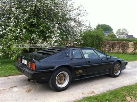 electric and cars manual 1986 lotus esprit parking system 1986 lotus esprit car photo and specs
