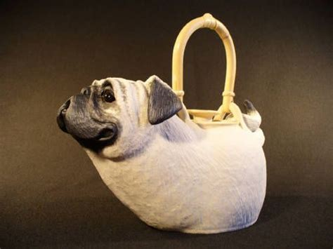 pug teapot pug teapot by crews dunn via hanson galleries pugmania