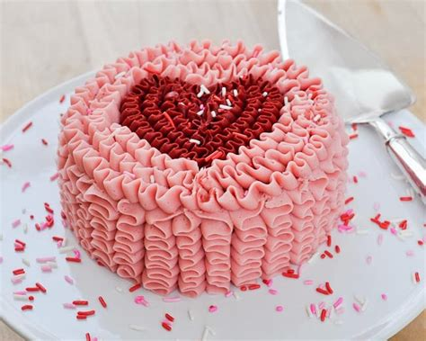 cakes for valentines day beki cook s cake ruffle cake tutorial s day
