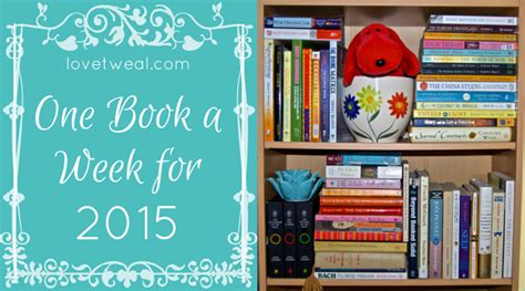 One Week Mba Book by One Book A Week For 2015 Tweal