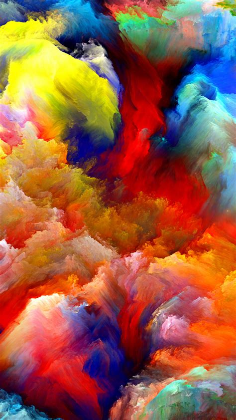 paint colorful 35 iphone 6 wallpapers to download