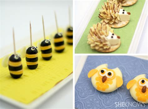 kid appetizers for adorably cheesy animal appetizers