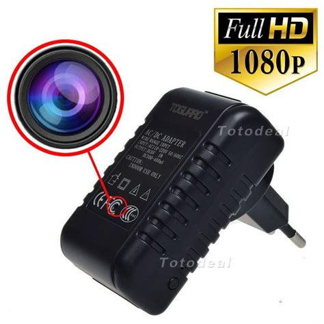 alimentatore corrente telecamera nascosta in alimentatore corrente wifi