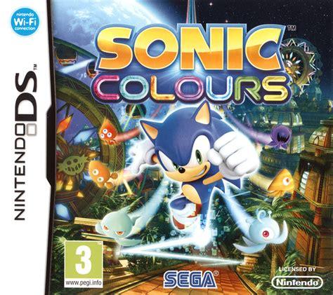 sonic colors ds sonic colours sur nintendo ds jeuxvideo
