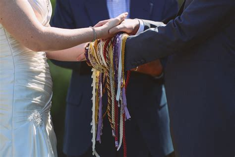 Wedding Ceremony Handfasting by Everything You Need To To Write Your Own Handfasting Vows