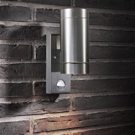 buy tin outdoor maxi wall lighting with sensor by nordlux
