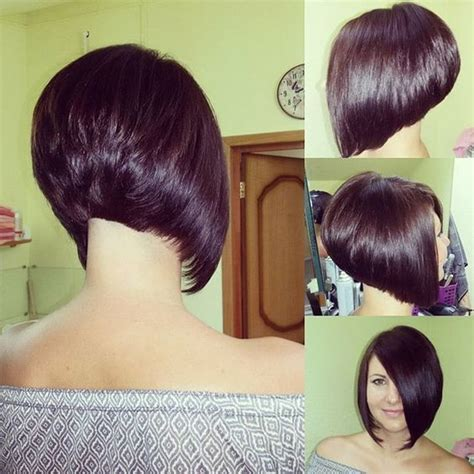 what is the difference between a stacked haircut and a beveled haircut difference between layered inverted and stacked bob