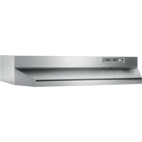 broan 42000 series 24 in range in stainless steel