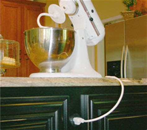 kitchen island outlet ideas enzy living alternatives to ugly outlets in kitchen islands