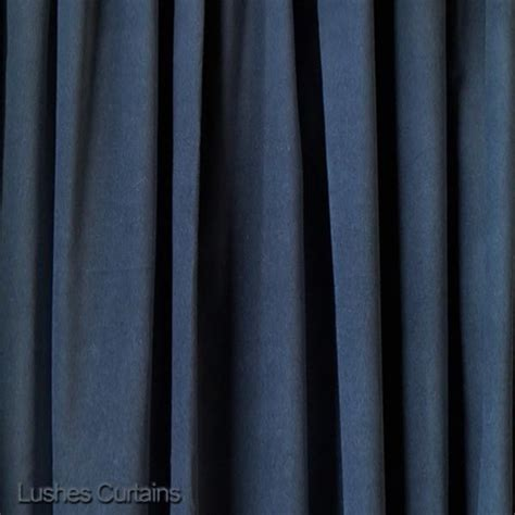 noise absorbing drapes blue velvet 11 h curtain extra long panel sound absorbing