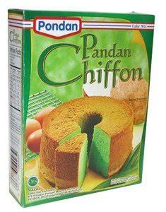 Pondan Sponge Cake Mix Rasa Pandan 400gr pondan pandan chiffon cake mix 400gr bazaaro