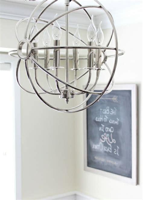dekoration für küche metall idee kronleuchter