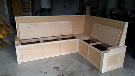 how to build a bench seat against a wall banquette build my first furniture attempt 3 my third